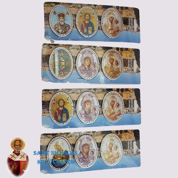 Olive-Wood-Saint-Nicholas-Holy-Crafts-Card-Magnet