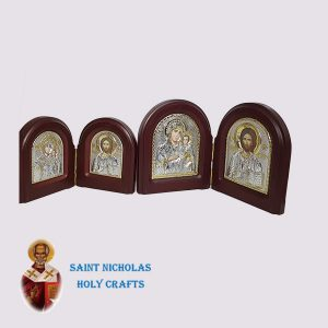 Olive-Wood-Saint-Nicholas-Holy-Crafts-Olive-Wood-2-Sided-Silver-Angel-Icon