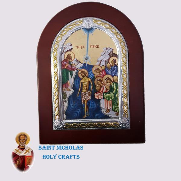 Olive-Wood-Saint-Nicholas-Holy-Crafts-Olive-Wood-Baptism-Frame-Nikolaus-Silver-Icon