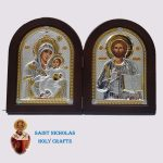 Olive-Wood-Saint-Nicholas-Holy-Crafts-Olive-Wood-Bethlehem-Diptec-Nikolaus-Silver-Icon