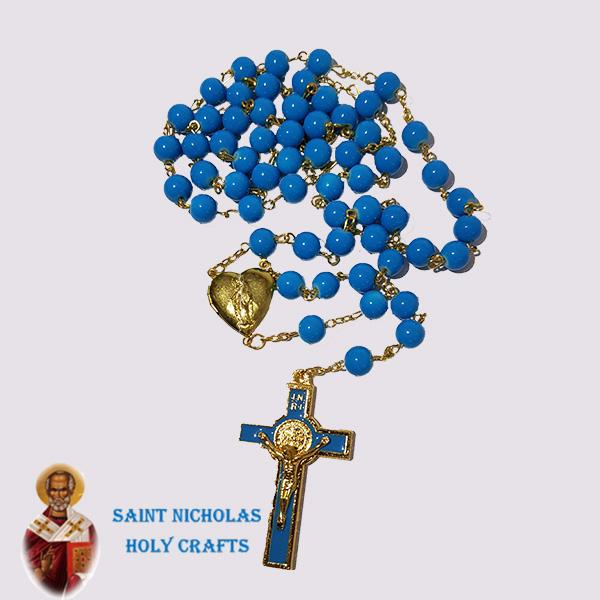 Olive-Wood-Saint-Nicholas-Holy-Crafts-Olive-Wood-Big-Benedict-Rosary