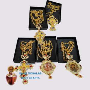 Olive-Wood-Saint-Nicholas-Holy-Crafts-Olive-Wood-Bishop-Cross