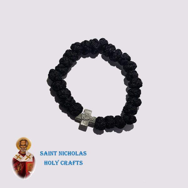 Olive-Wood-Saint-Nicholas-Holy-Crafts-Olive-Wood-Black-Thread-Bracelet