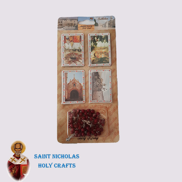 Olive-Wood-Saint-Nicholas-Holy-Crafts-Olive-Wood-Card-Magnet-With-Rosary