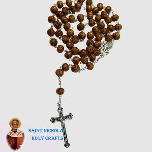 Olive-Wood-Saint-Nicholas-Holy-Crafts-Olive-Wood-Carved-Wood-Rosary
