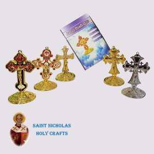 Olive-Wood-Saint-Nicholas-Holy-Crafts-Olive-Wood-Coloured-Cross
