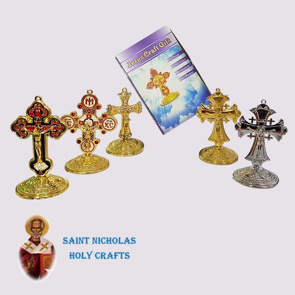 Olive-Wood-Saint-Nicholas-Holy-Crafts-Olive-Wood-Coloured-Cross