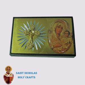 Olive-Wood-Saint-Nicholas-Holy-Crafts-Olive-Wood-Gold-Magnet