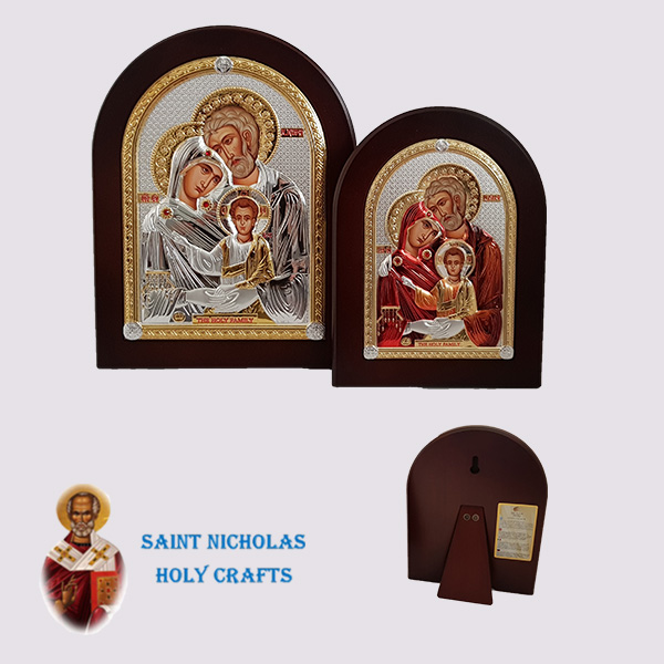 Olive-Wood-Saint-Nicholas-Holy-Crafts-Olive-Wood-Holy-Family-Nikolaus-Silver-Icon