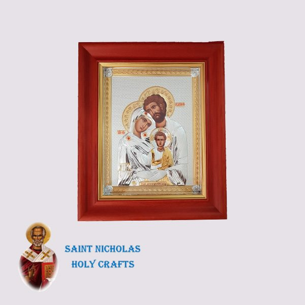 Olive-Wood-Saint-Nicholas-Holy-Crafts-Olive-Wood-Holy-Family-Nikolaus-Silver-Icon-With-Glass