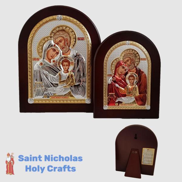 Olive-Wood-Saint-Nicholas-Holy-Crafts-Olive-Wood-Holy-Family-Nikolaus-Silver-Icon