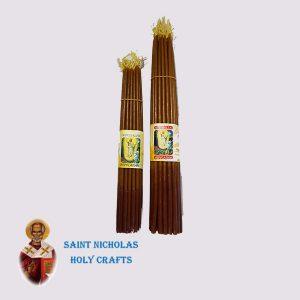 Olive-Wood-Saint-Nicholas-Holy-Crafts-Olive-Wood-Honey-33-Candle