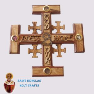 Olive-Wood-Saint-Nicholas-Holy-Crafts-Olive-Wood-Jerusalem-Olive-Wood-Cross-1