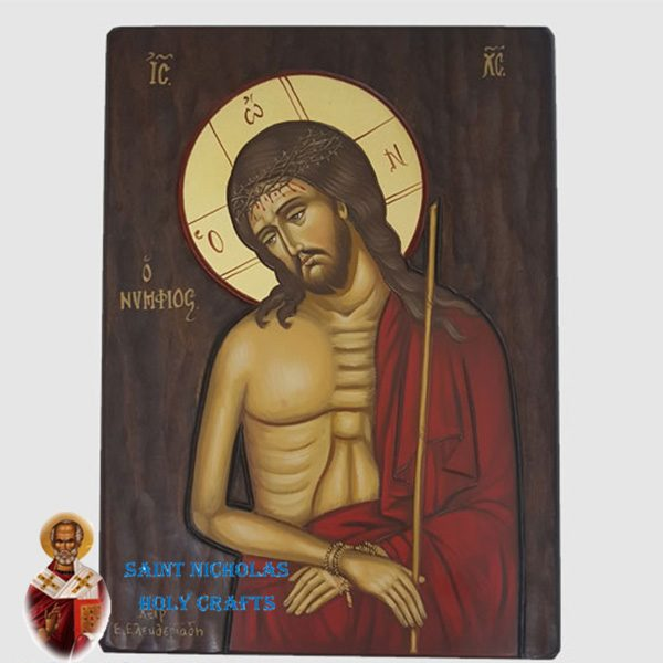 Olive-Wood-Saint-Nicholas-Holy-Crafts-Olive-Wood-Jesus-Body-Hand-Painted-Icon