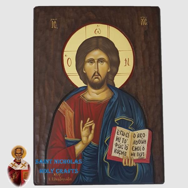 Olive-Wood-Saint-Nicholas-Holy-Crafts-Olive-Wood-Jesus-Hand-Painted-Icon