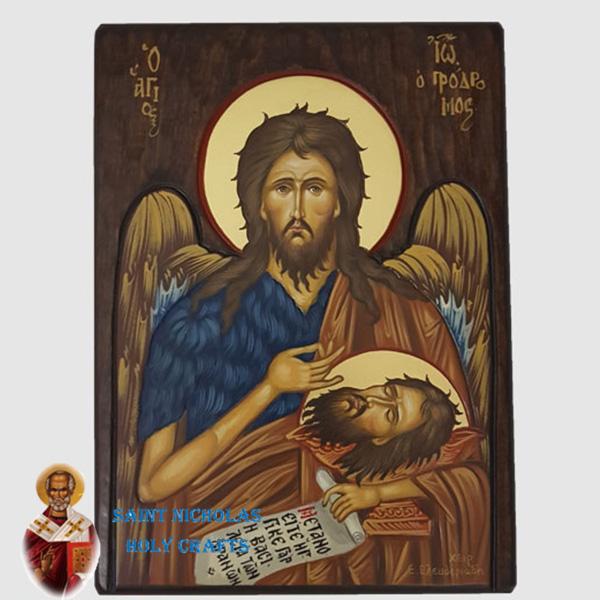 Olive-Wood-Saint-Nicholas-Holy-Crafts-Olive-Wood-John-Head-Hand-Painted-Icon