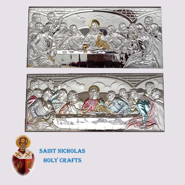 Olive-Wood-Saint-Nicholas-Holy-Crafts-Olive-Wood-Last-Supper-Nikolaus-Silver-Icon