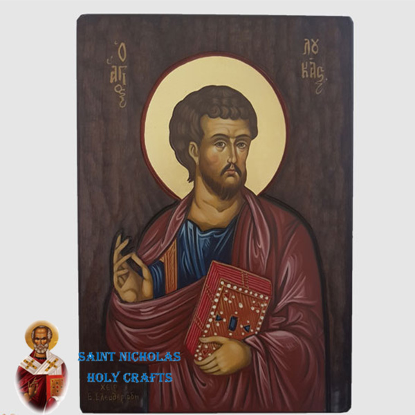 Olive-Wood-Saint-Nicholas-Holy-Crafts-Olive-Wood-Luke-Hand-Painted-Icon