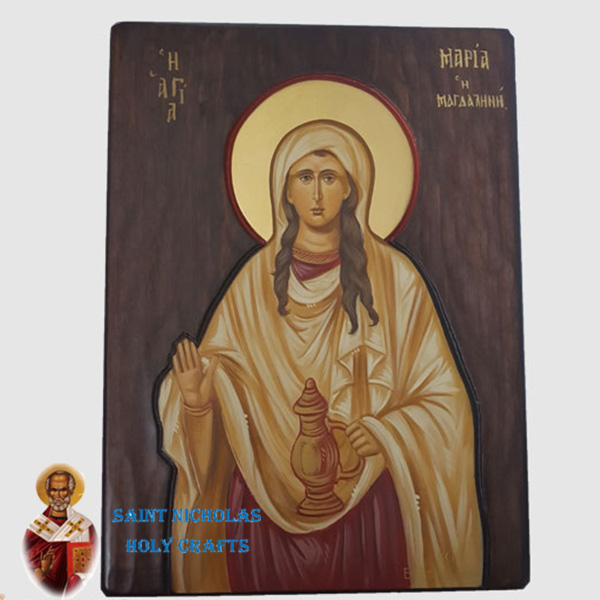 Olive-Wood-Saint-Nicholas-Holy-Crafts-Olive-Wood-Majdaline-Hand-Painted-Icon