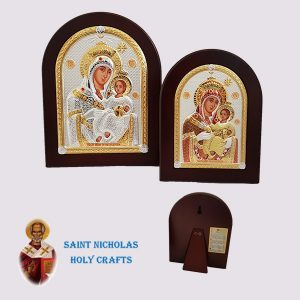 Olive-Wood-Saint-Nicholas-Holy-Crafts-Olive-Wood-Mary-Of-Bethlehem-Nikolaus-Silver-Icon