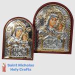 Olive-Wood-Saint-Nicholas-Holy-Crafts-Olive-Wood-Mary-Of-Bethlehem-Silver-Angel-Icon-1