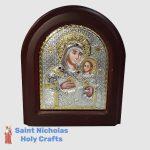 Olive-Wood-Saint-Nicholas-Holy-Crafts-Olive-Wood-Mary-Of-Bethlehem-Silver-Angel-Icon