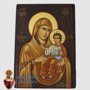 Olive-Wood-Saint-Nicholas-Holy-Crafts-Olive-Wood-Mary-Of-Jerusalem-Hand-Painted-Icon