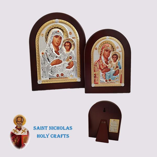 Olive-Wood-Saint-Nicholas-Holy-Crafts-Olive-Wood-Mary-Of-Jerusalem-Nikolaus-Silver-Icon