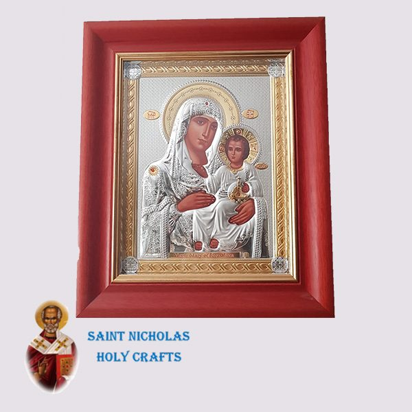Olive-Wood-Saint-Nicholas-Holy-Crafts-Olive-Wood-Mary-Of-Jerusalem-Nikolaus-Silver-Icon-With-Glass