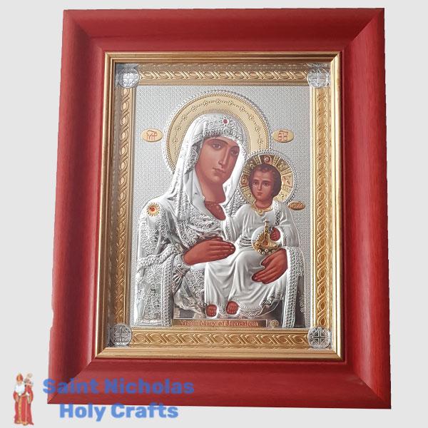 Olive-Wood-Saint-Nicholas-Holy-Crafts-Olive-Wood-Mary-Of-Jerusalem2-Nikolaus-Silver-Icon