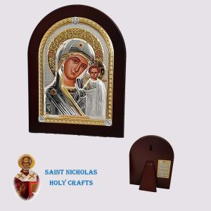Olive-Wood-Saint-Nicholas-Holy-Crafts-Olive-Wood-Mary-Of-Kazan-Nikolaus-Silver-Icon