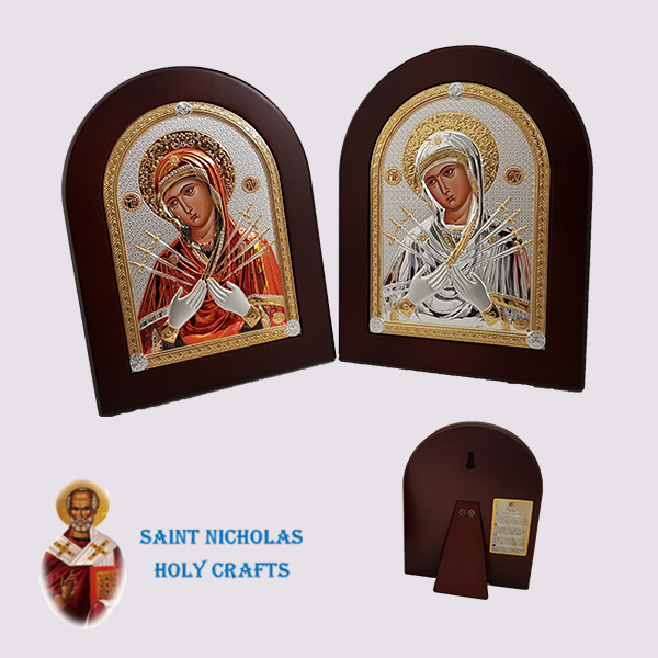 Olive-Wood-Saint-Nicholas-Holy-Crafts-Olive-Wood-Mary-With-7-Swords-Nikolaus-Silver-Icon