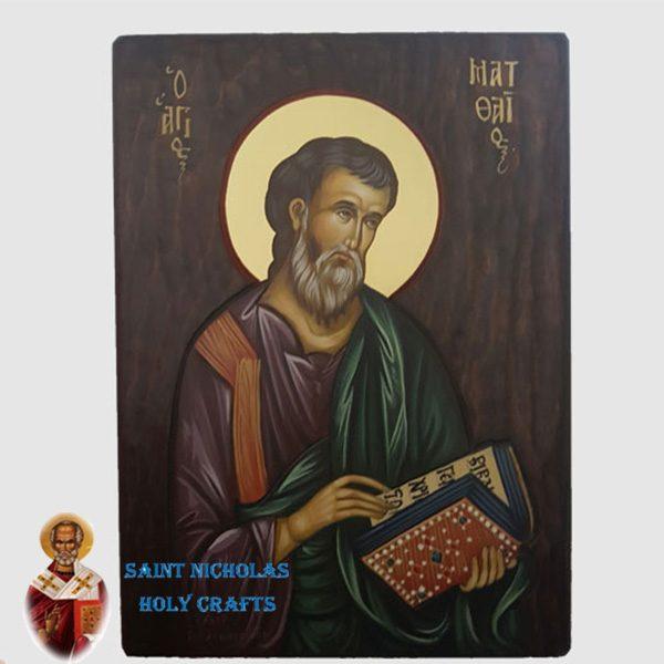 Olive-Wood-Saint-Nicholas-Holy-Crafts-Olive-Wood-Matt-Hand-Painted-Icon