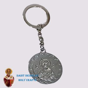 Olive-Wood-Saint-Nicholas-Holy-Crafts-Olive-Wood-Metal-Key-Chain1
