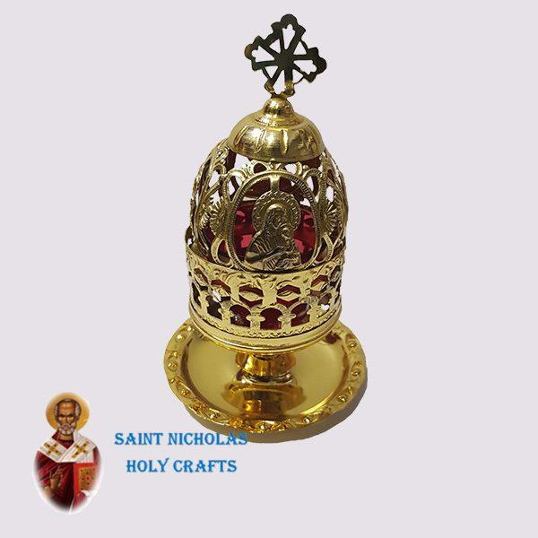 Olive-Wood-Saint-Nicholas-Holy-Crafts-Olive-Wood-Oil-Lamp-5172