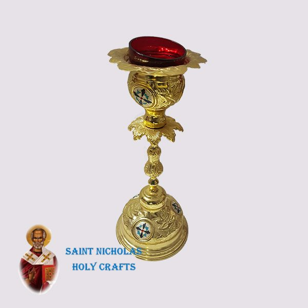Olive-Wood-Saint-Nicholas-Holy-Crafts-Olive-Wood-Oil-Lamp-6254