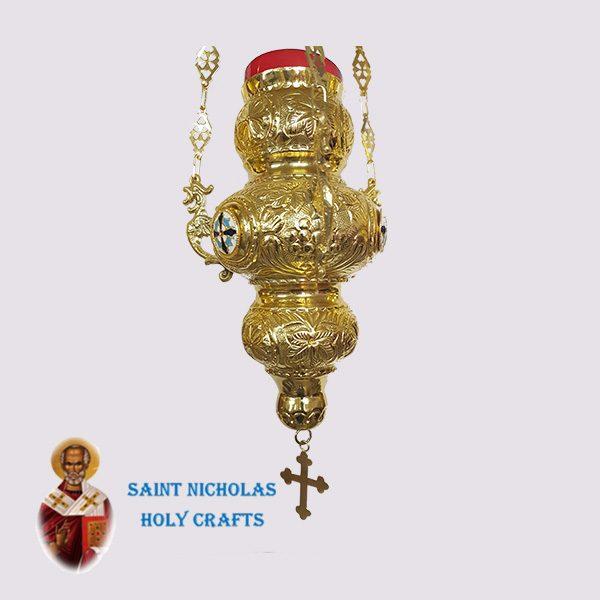 Olive-Wood-Saint-Nicholas-Holy-Crafts-Olive-Wood-Oil-Lamp-6282