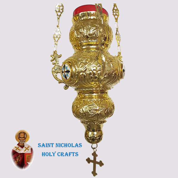 Olive-Wood-Saint-Nicholas-Holy-Crafts-Olive-Wood-Oil-Lamp-6282-B