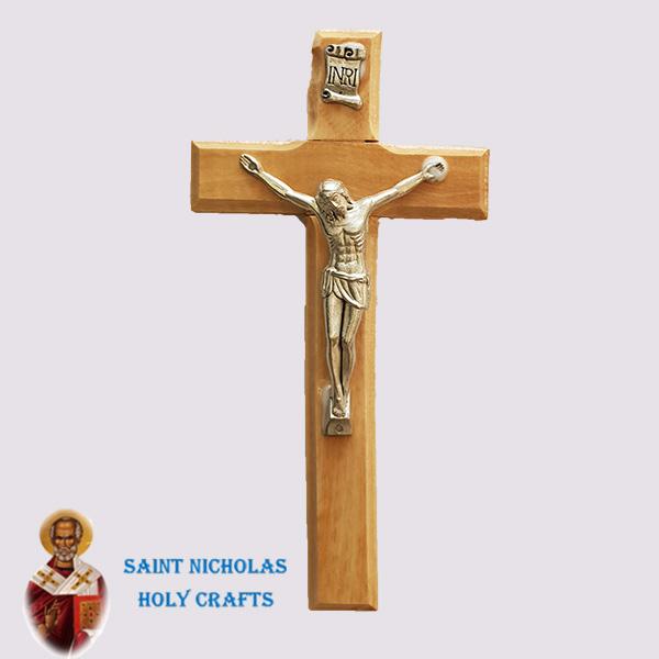 Olive-Wood-Saint-Nicholas-Holy-Crafts-Olive-Wood-Olive-Wood-Cross.