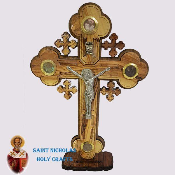 Olive-Wood-Saint-Nicholas-Holy-Crafts-Olive-Wood-Olive-Wood-Laser-Cross