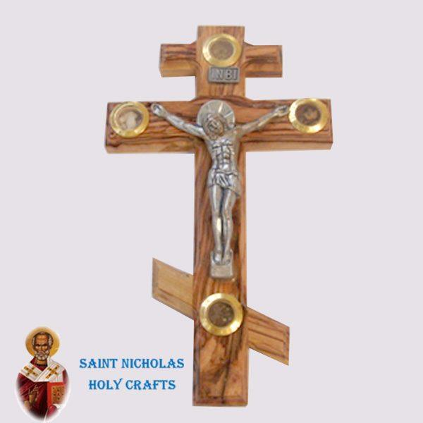 Olive-Wood-Saint-Nicholas-Holy-Crafts-Olive-Wood-Olive-Wood-Russian-Cross