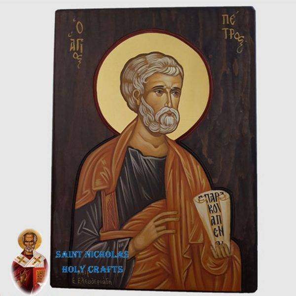 Olive-Wood-Saint-Nicholas-Holy-Crafts-Olive-Wood-Peter-Hand-Painted-Icon