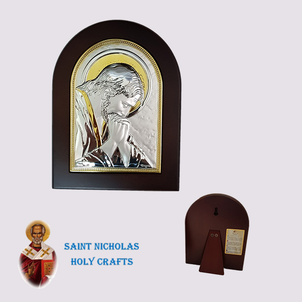 Olive-Wood-Saint-Nicholas-Holy-Crafts-Olive-Wood-Praying-Jesus-Nikolaus-Silver-Icon