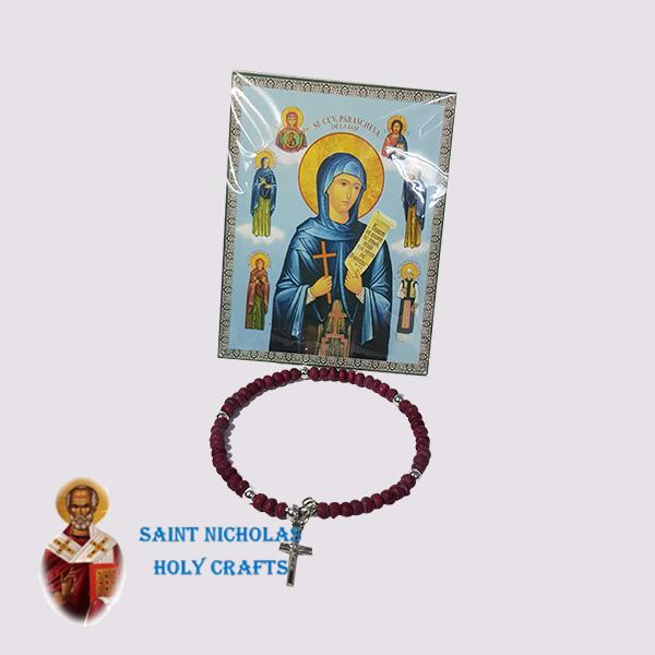 Olive-Wood-Saint-Nicholas-Holy-Crafts-Olive-Wood-Red-Bracelet