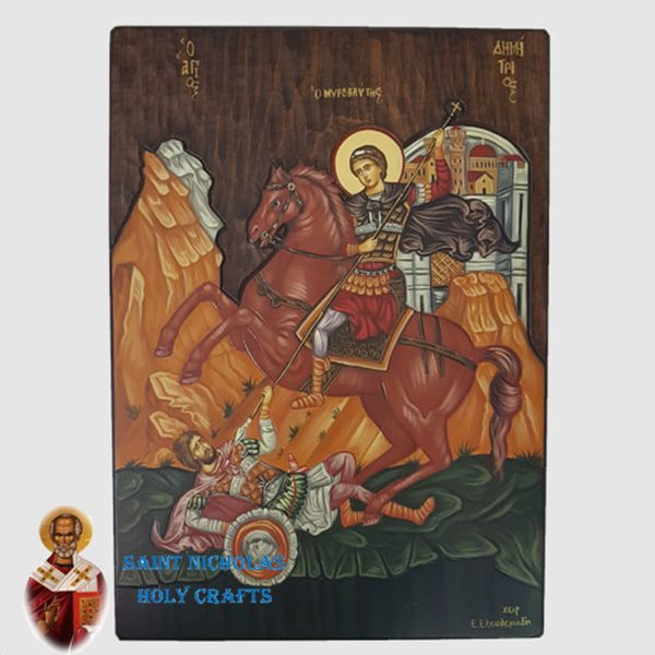Olive-Wood-Saint-Nicholas-Holy-Crafts-Olive-Wood-Saint-Micheal-Hand-Painted-Icon