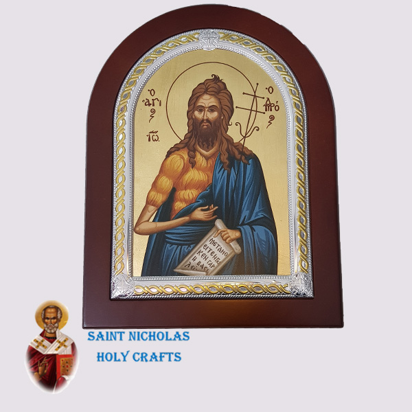 Olive-Wood-Saint-Nicholas-Holy-Crafts-Olive-Wood-Saint-Prodromos-Frame-Nikolaus-Silver-Icon