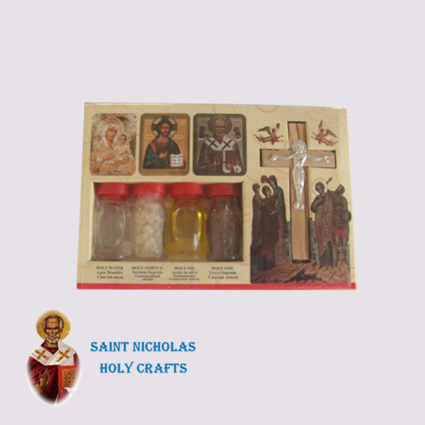 Olive-Wood-Saint-Nicholas-Holy-Crafts-Olive-Wood-Set-Of-4-Bottles-With-Icons-and-Cross