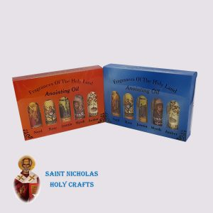 Olive-Wood-Saint-Nicholas-Holy-Crafts-Olive-Wood-Set-Of-Oil-With-Perfume