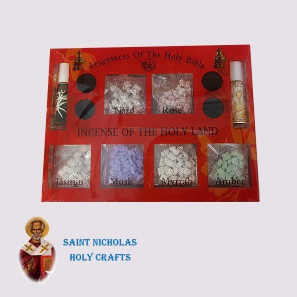 Olive-Wood-Saint-Nicholas-Holy-Crafts-Olive-Wood-Set-Of-Oils-and-Incense