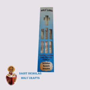 Olive-Wood-Saint-Nicholas-Holy-Crafts-Olive-Wood-Set-Of-Paraffin-Candles